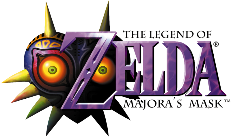 Logo for The Legend of Zelda: Majora's Mask