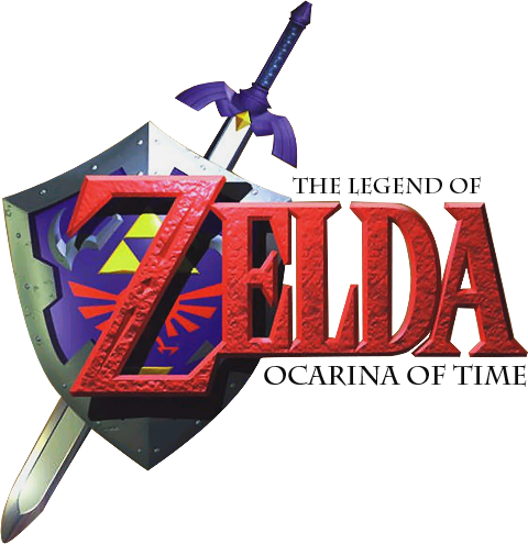 Logo for The Legend of Zelda: Ocarina of Time